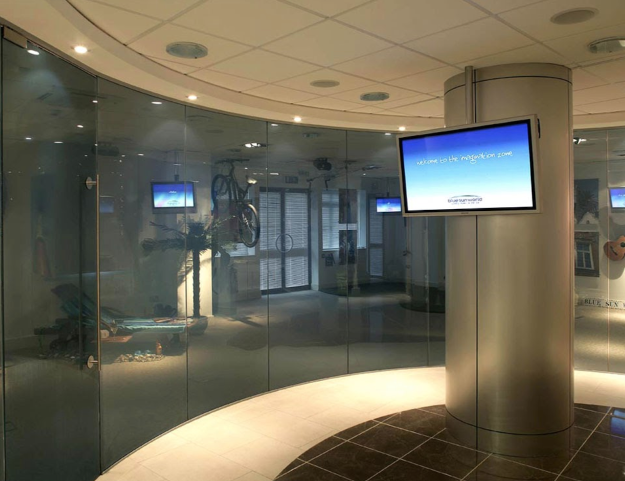 LCD privacy smart glass is the ultimate in customizable privacy