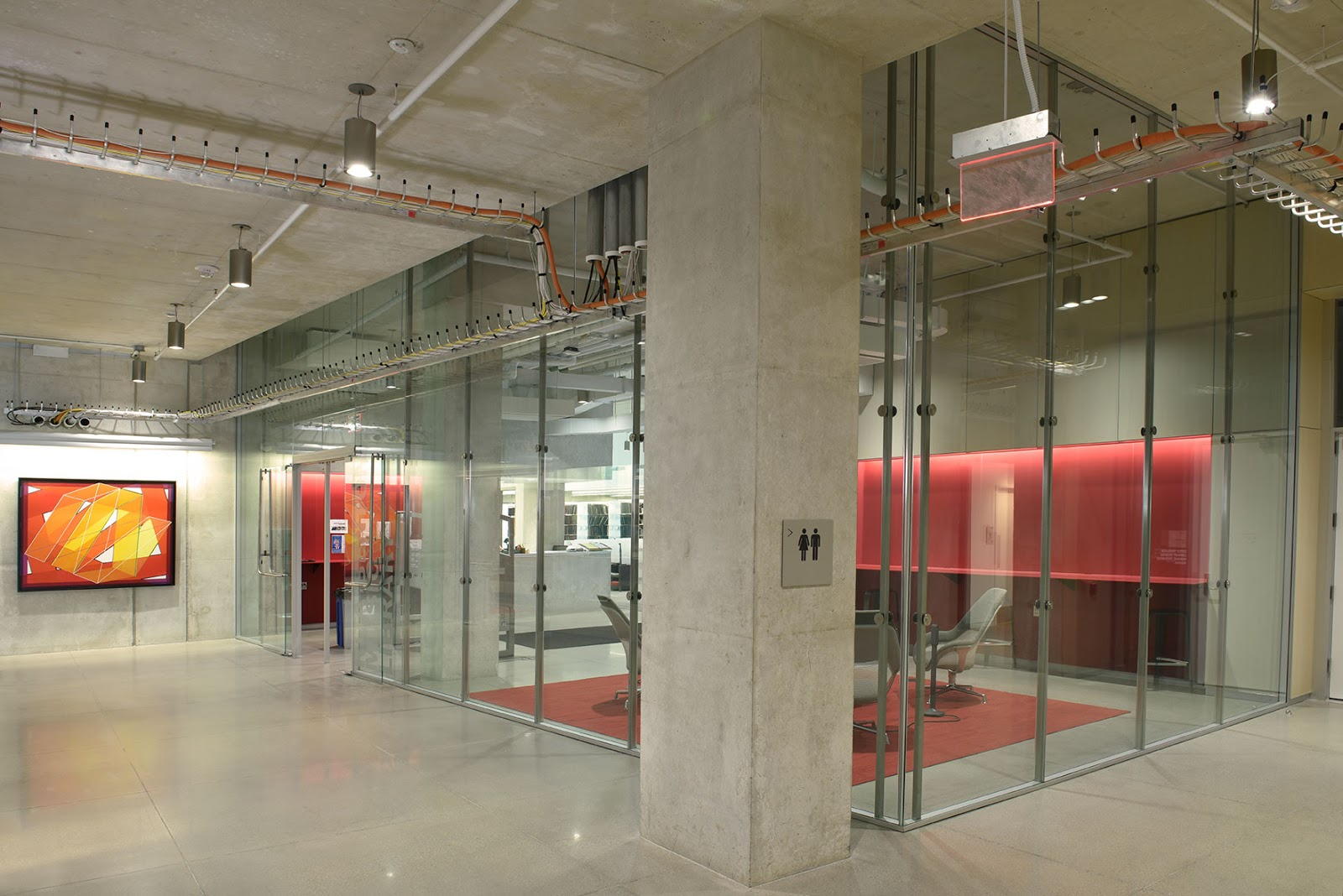 Purposeful Partitions With Glass Curtain Wall System