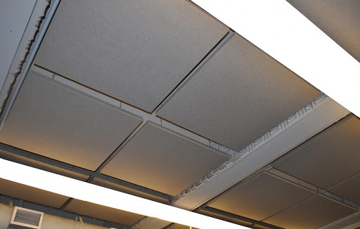 Use Acoustic Ceiling Tiles
