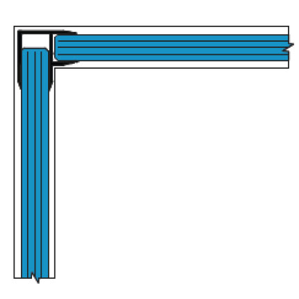 Single Glazed Frameless Glass Partitions Walls Avanti