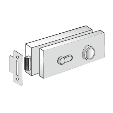 Lockset Center Mount