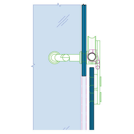 Sliding Door Track Glass Door