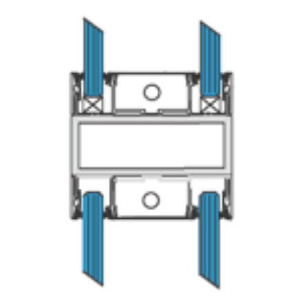 Horizontal Joint With Stainless Steel Tube Support