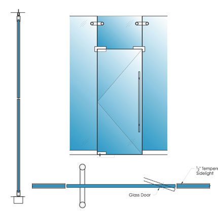 Single Pivot Swing Door